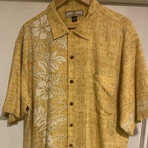 Tommy Bahama Floral Men's Silk Large Shirt
